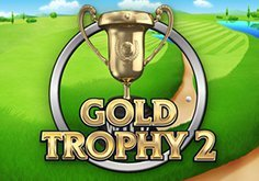 Gold Trophy 2 Pokie Logo
