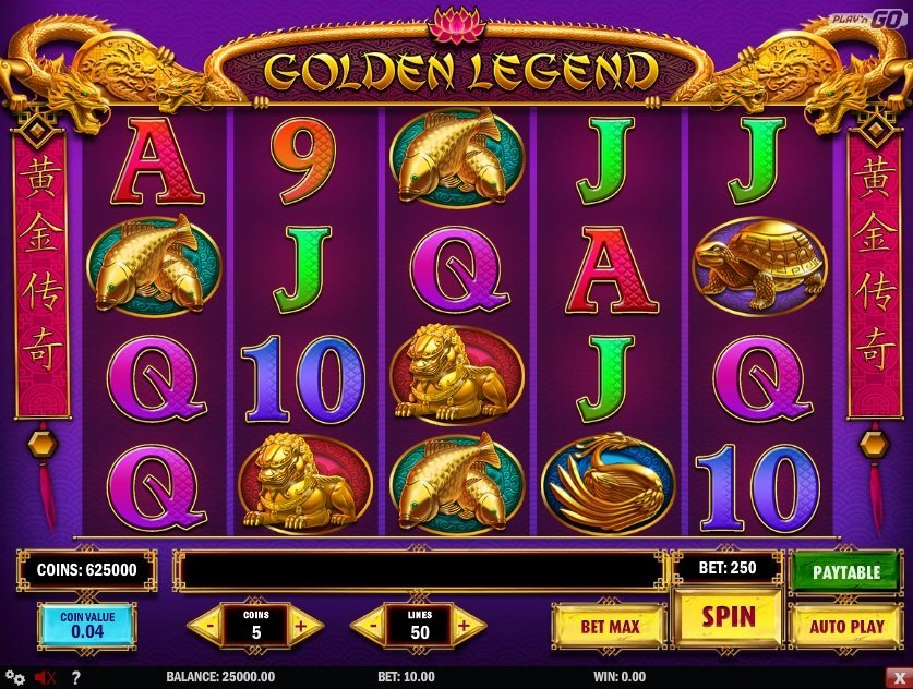 Golden Legend Pokie