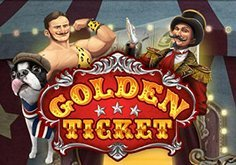 Golden Ticket Pokie Logo