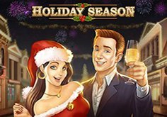 Holiday Season Pokie Logo