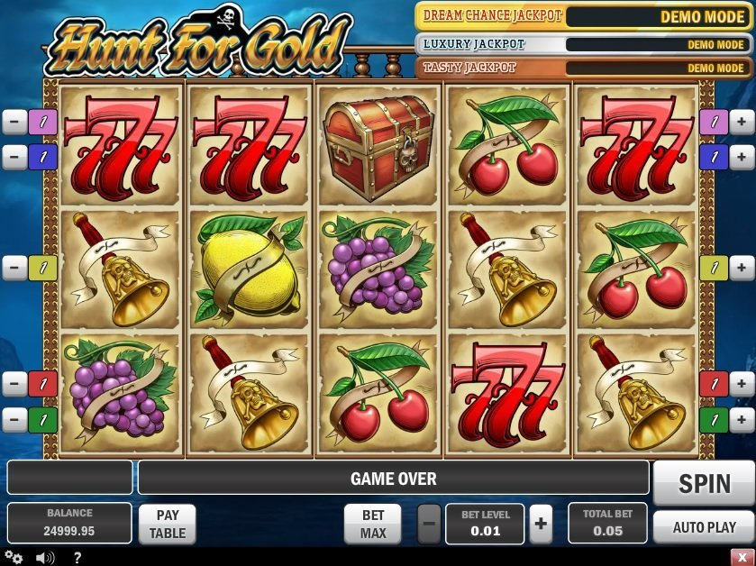 Hunt For Gold Pokie