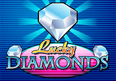 Lucky Diamonds Pokie Logo