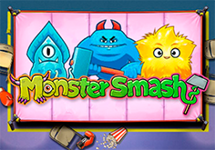 Monster Smash Pokie Logo
