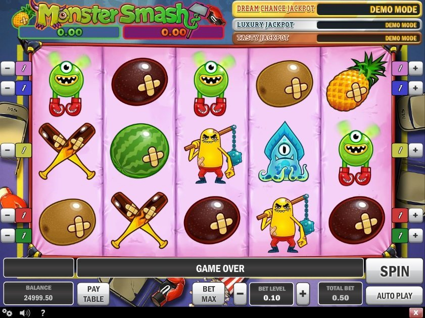 Monster Smash Pokie