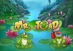 Mr Toad Pokie Logo