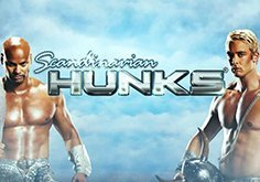 Scandinavian Hunks Pokie Logo