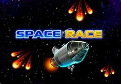 Space Race Pokie Logo