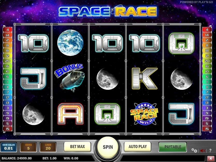 Space Race Pokie