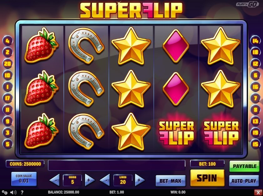 Super Flip Pokie