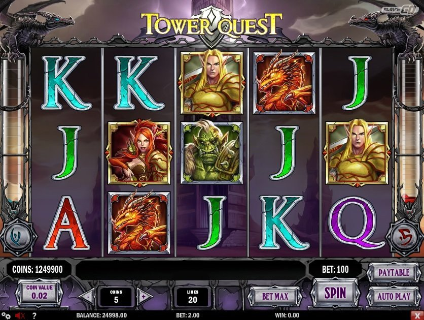 Tower Quest Pokie