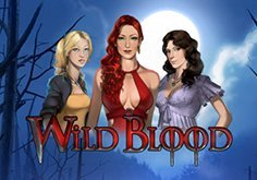 Wild Blood Pokie Logo