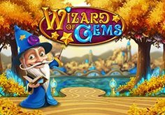 Wizard Of Gems Pokie Logo