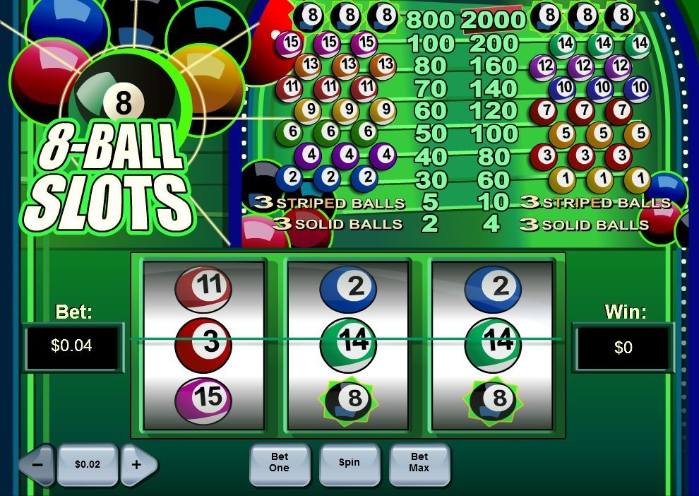 8 Ball Pokie