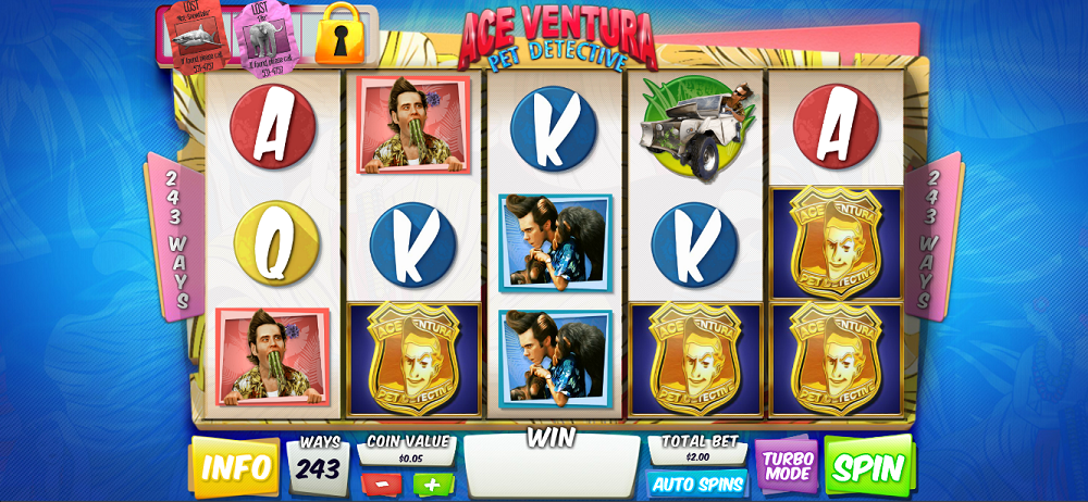 Ace Ventura Pokie