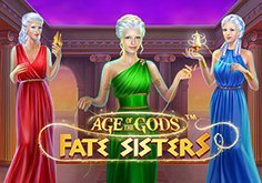 Age Of The Gods Fate Sisters Pokie Logo