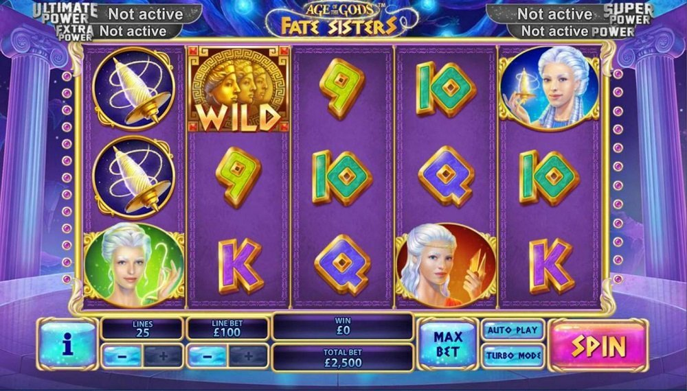 Age Of The Gods Fate Sisters Pokie