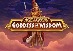 Age Of The Gods Goddess Of Wisdom Pokie Logo