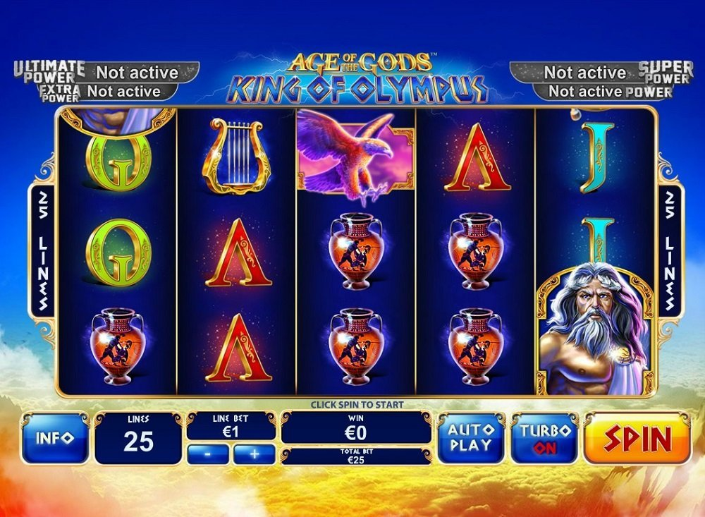 Age Of The Gods King Of Olympus Pokie