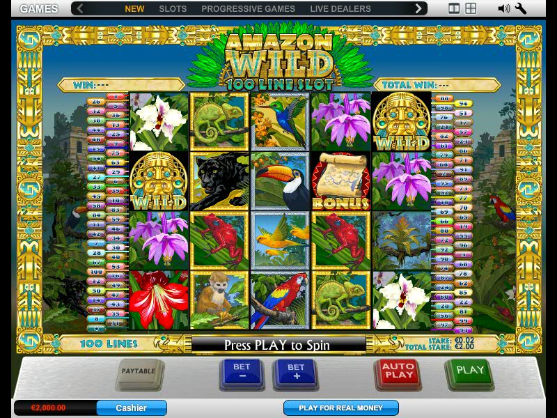 Amazon Wild Pokie