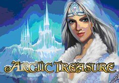 Arctic Treasure Pokie Logo