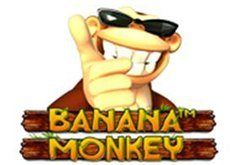 Banana Monkey Pokie Logo
