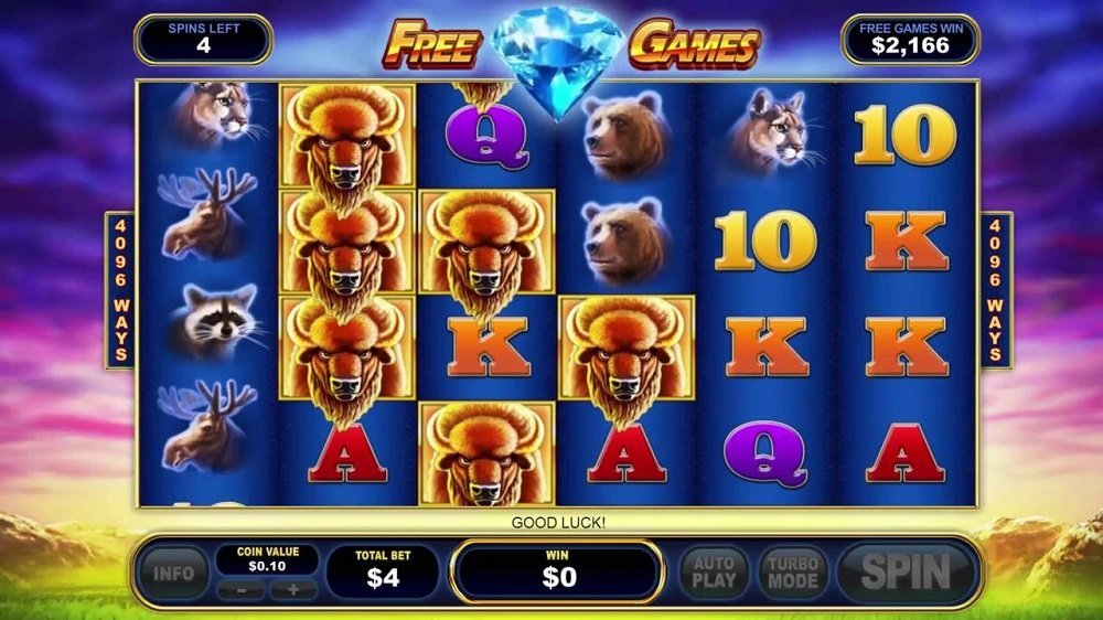 Buffalo Blitz Pokie