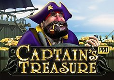Captains Treasure Pro Pokie Logo