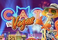 Cat In Vegas Pokie Logo