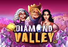 Diamond Valley Pro Pokie Logo
