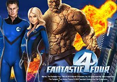 Fantastic Four Pokie Logo