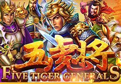 Five Tiger Generals Pokie Logo