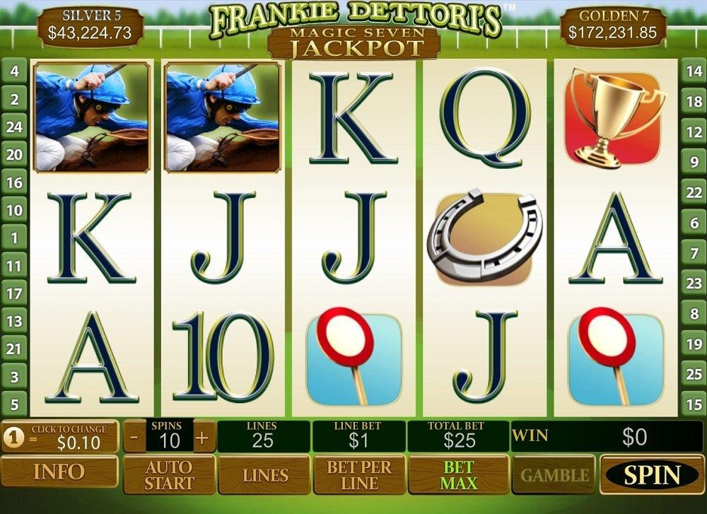 Spiele Frankie DettoriS: Magic Seven - Video Slots Online