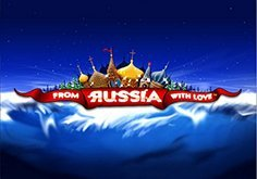 From Russia With Love Pokie Logo