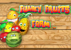 Funky Fruits Farm Pokie Logo