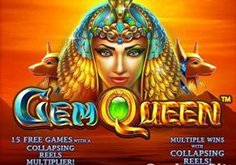 Gem Queen Pokie Logo