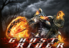 Ghost Rider Pokie Logo