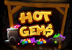 Hot Gems Pokie Logo