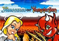 Innocence Or Temptation Pokie Logo