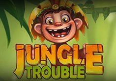 Jungle Trouble Pokie Logo