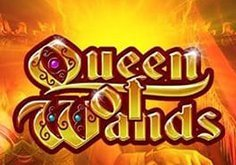 Queen Of Wands Pokie Logo