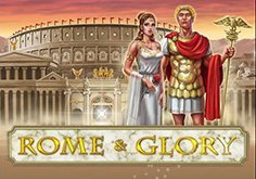 Rome And Glory Pokie Logo