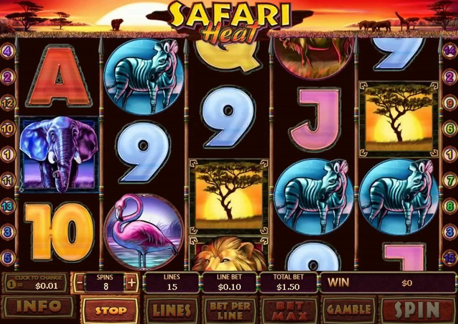 Safari Heat Pokie