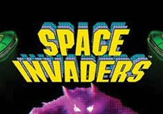 Space Invaders Pokie Logo