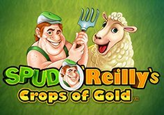 Spud O 8217reilly 8217s Crops Of Gold Pokie Logo