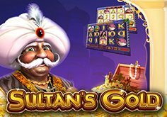Sultan 8217s Gold Pokie Logo
