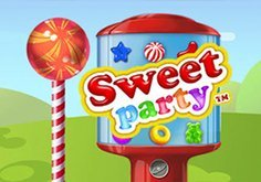 Sweet Party Pokie Logo