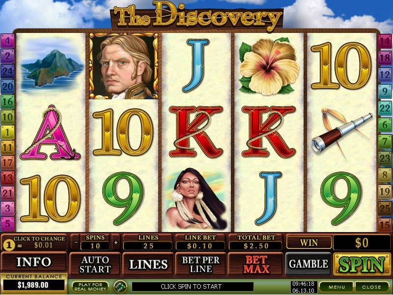 The Discovery Pokie