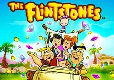 The Flintstones Pokie Logo