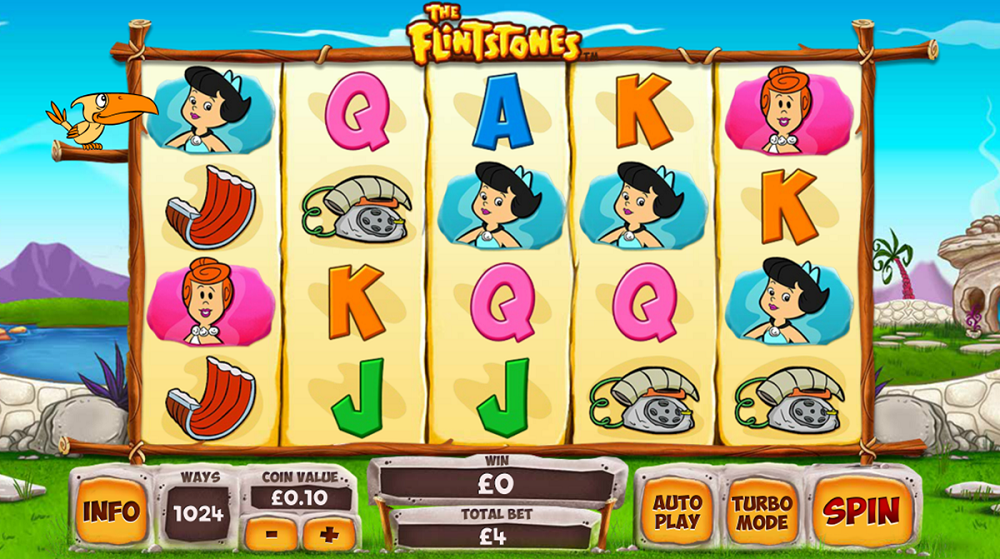 The Flintstones Pokie