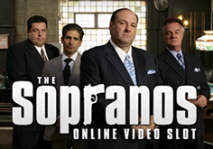 The Sopranos Pokie Logo